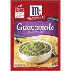 McCormick Guacamole Seasoning Mix, 1 oz (Case of 12)