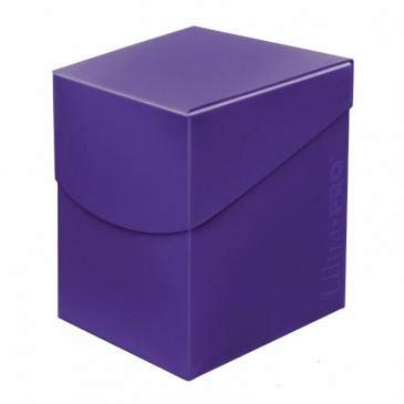 Ultra Pro Standard Eclipse Pro 100+ Deck Box - Royal Purple