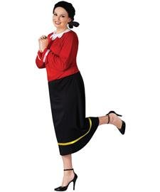 Olive Oyl Plus Size Adult -