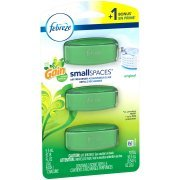 Febreze Small Spaces Original with Gain Scent Air Freshener Refills 0.54 fl. oz. Carded Pack (1 pack)