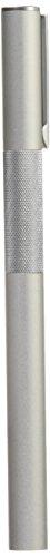 MUJI Aluminum Body Fountain Pen - Fine Nib - with 2 Refill Ink Cartridge (Best Japanese Fountain Pen Ink)