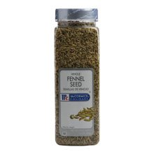 McCormick Fennel Seed - 14 oz.container, 6 per case