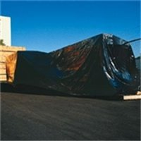 The Packaging Wholesalers 20 x 100' 6 mil Heavy-Duty Blac...