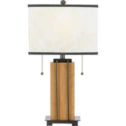 Quoizel Portable Riley 2 Light Table Lamp ()