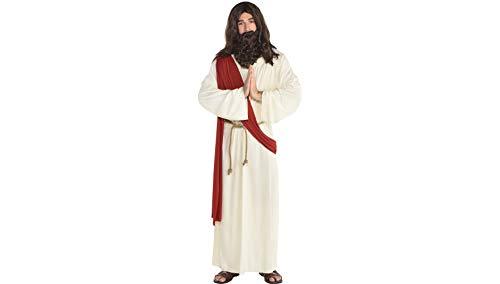 Amscan Jesus Halloween Robe for Men, One Size