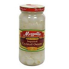 G L Mezzetta Onions, Cocktail, 16-Ounce (Pack of 6) by G L Mezzetta