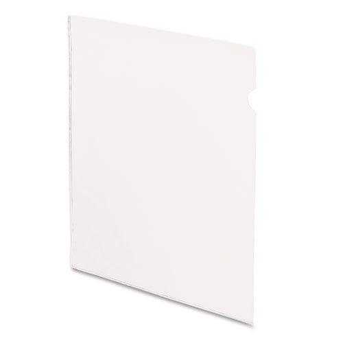 Esselte Pendaflex Vinyl - Pendaflex See-In File Jackets, Letter, Vinyl, Clear, 50/Box