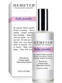 Demeter Baby Powder Cologne Spray for Unisex, 4 Ounce