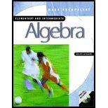 Elementary and Intermediate Algebra - Textbook Only