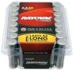 Alkaline Reclosable Batteries, 1.5 V, AA (48 Pack)