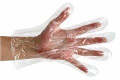 colore: trasparente con dispenser Nutwell Medical Supplies Premier Guanti di protezione in polietilene confezione da 100 misura media