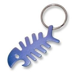 bone fish keychain keyring bottle opener automotive. Black Bedroom Furniture Sets. Home Design Ideas