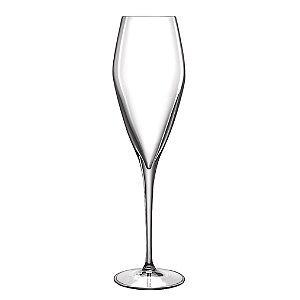 Luigi Bormioli Prestige Champagne/Flute Glasses, 10 oz., Set of 4