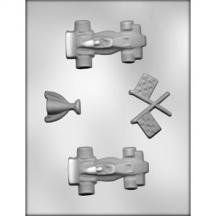 (3 Pack- Race Car Mold)