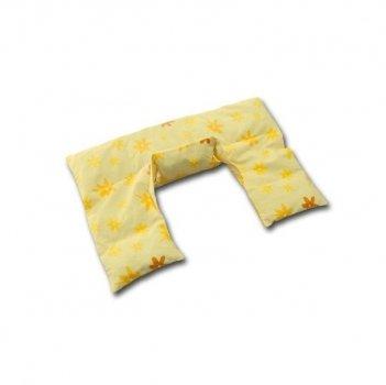 Theraline - Cojín térmico/cuello almohada beige amarillo ...
