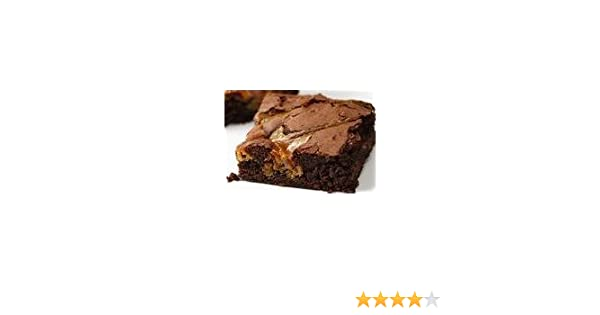 Dulce de Leche 12pack Individually Baked & Wrapped Brownies: Amazon.com: Grocery & Gourmet Food