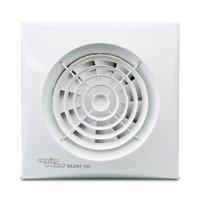 Envirovent SIL100S'Silent' Extractor Fan for Bathroom/En-Suites (NO Timer)