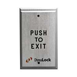 DynaLock 6700 Heavy Duty Vandal Resistant Pushplate by DynaLock