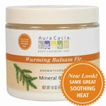 Aura Cacia Aromatherapy Mineral Baths - Soothing Heat - 16 oz
