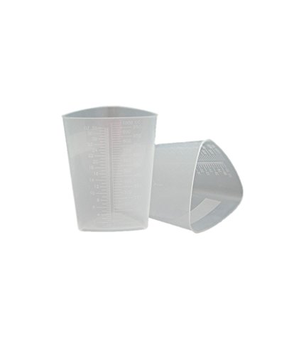 OakRidge Products Triangular Graduated Container, Translucent, PP (10 - In Stores Oakridge