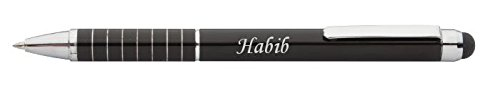 personalized-touch-screen-pen-stylus-with-text-habib-first-name-surname-nickname