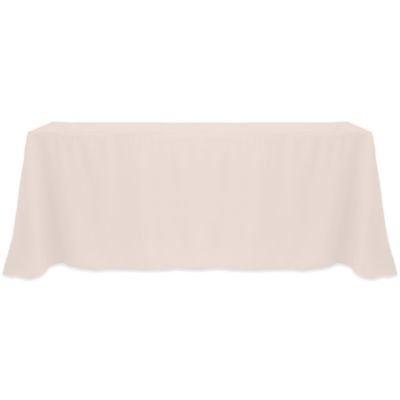 Genial ArtOFabric Peach Tablecloth For Wedding, Baby Shower, Banquet 60 Inch X 102  Inch Rectangular