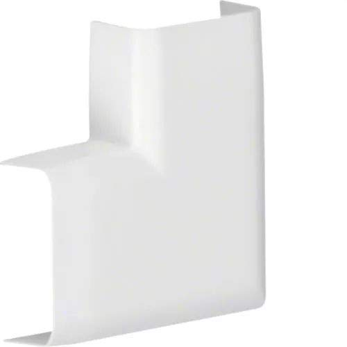 Hager-ATA123059010 Angle plat pour canal mini ABS