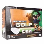 (Mad Catz Real World Golf Game Bundle w/Gametrak for PS/2)