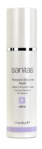 Sanitas Skincare Pumpkin Enzyme Mask, Brightening Treatment Mask, 1.7 Ounce