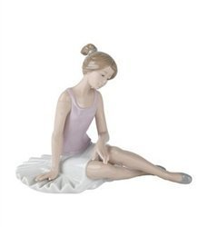 Nao by Lladro Collectible Porcelain Figurine DANCER RESTED – 6 1 2 tall – Ballerina