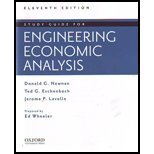 img - for Study Guide for Engineering Economic Analysis book / textbook / text book