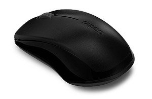Rapoo 1620 Wireless Optical Mouse (Black)
