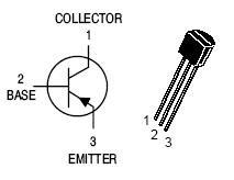 BC307 PNP Transistor - 10 Pieces