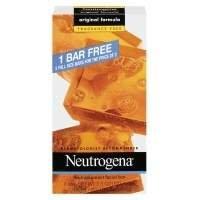 Neutrogena Transparent Facial Bar Bonus Pack, Original Formula, Fragrance Free