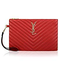 - Olyphy Oversized Envelope Clutch for Women Leather Designer Clutch Bag with Card Slots Quilted Handbag Purse
