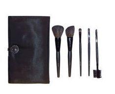 Mary Kay Brush Collection / Organizer ~ 5 Brush Set (Mary Kay Cosmetic Bag Organizer)