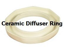 Totally Awesome Set of Ceramic Diffuser Ring & 1/2 Ounce Cinnamon Sticks Fragrance Oil Drops Cinnamon Stick