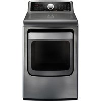 Samsung 7.4 Cu.Ft. King-Size Capacity Stainless Platinum ...