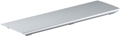 KOHLER K-9156-SH Bellwether Aluminum Drain Cover for 60-Inch x 32-Inch Shower Base, Bright Silver