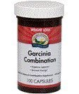 Nature's SunShine Garcinia Combination Glandular System Support for Weight Management 100 Caps Each (Pack of 2)