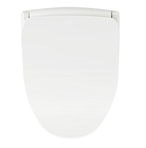 Bio Bidet Slim TWO Bidet Smart Toilet Seat in Round White wi