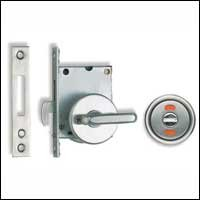Sugatsune HC-30HL Sliding Door Latch with Indicator, - Sugatsune Sliding Door Hardware