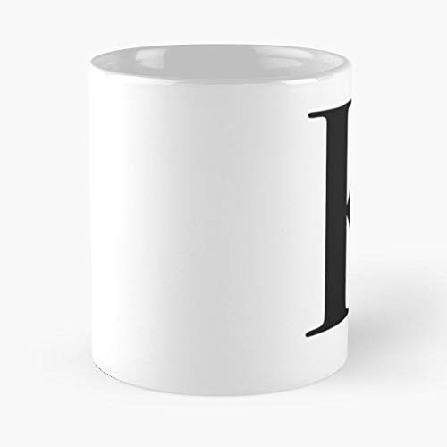 Alphabet First Love Letter - 11 Oz Coffee Mugs Unique Ceramic Novelty Cup, The Best Gift For Holidays.