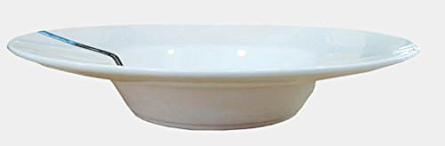 Super White Wide Rim Porcelain Pasta Bowl ( 12 Count) 11'' D X 1.95''H ( RCN-0911) by Sunrise Kitchen Supply (Image #2)