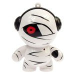 Stylish Mummy Figure USB Rechargeable Mini Portable Speaker(White) (Mummy Mini Figure)