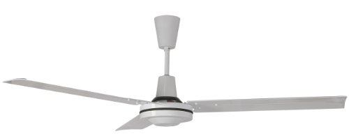 Leading Edge 60101 60-Inch Harsh Environment Spray Proof Ceiling Fan, 41000 CFM, White