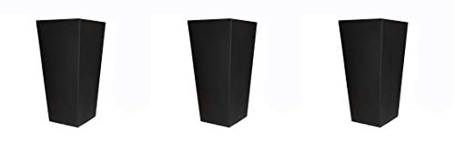 Tusco Products Outdoor Urn Black 17-Inch