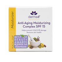Bulk Save Derma E Anti-Aging Moisturizing Complex SPF 15 1 to 4 packs each 2 Oz