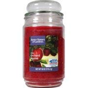 Best Better Homes  Gardens 18oz, Spruce jar candle with bubble lid (Fresh Orchard Apples)