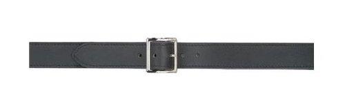 Safariland Duty Gear Garrison Chrome Buckle Belt (Plain Black, 40-Inch)